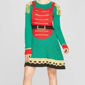 Dresses & Skirts - Ladies Toy Soldier Ugly Christmas Sweater Dress